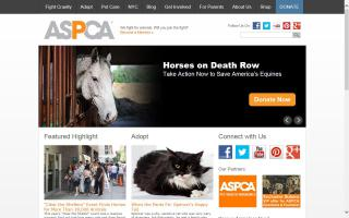 American Society for the Prevention of Cruelty to Animals, The - ASPCA