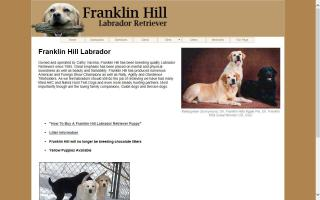 Franklin Hill Labrador Retrievers