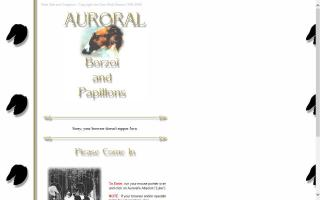 Auroral Borzoi and Papillons