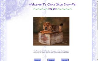 China Skye Shar-Pei