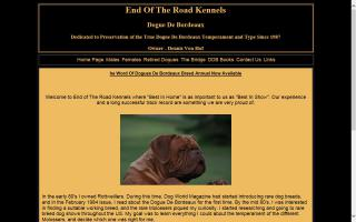 End of The Road Kennels