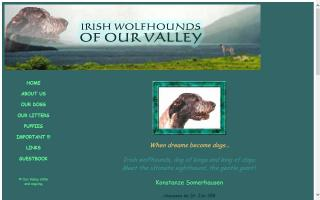 Irish Wolfhounds Of Our Valley