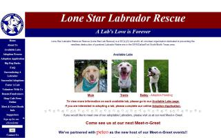 Lone Star Labrador Retriever Rescue
