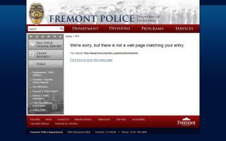 Fremont Police Department - Animal Services