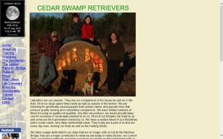 Cedar Swamp Retrievers