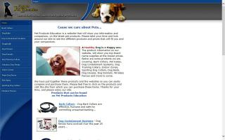 Pet Products Education