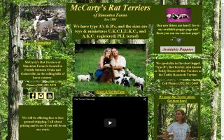 McCarty's Rat Terriers