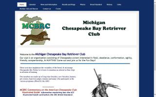Michigan Chesapeake Bay Retriever Club - MCBRC