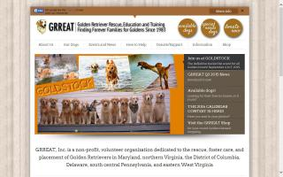 Golden Retriever Rescue, Education and Training - GRREAT