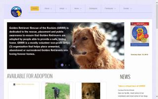 Golden Retriever Rescue of the Rockies - GRRR