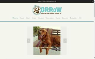 Golden Retriever Rescue of Wisconsin - GRRoW