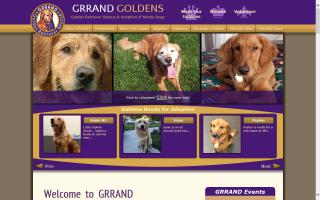 Golden Retriever Rescue and Adoption of Needy Dogs - GRRAND
