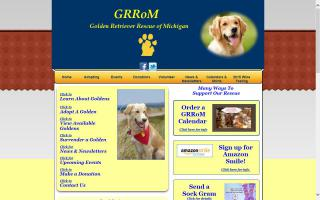Golden Retriever Rescue of Michigan - GRRofMI