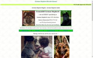 Grunenfeld German Shepherds