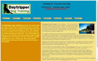 Daytripper Dog Training