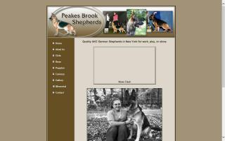 Peakes Brook German Shepherds