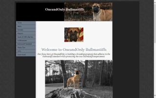 OneandOnly Bullmastiffs