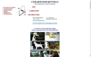 Cedarwood Kennels
