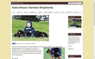 Hokschhaus German Shepherds