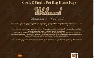Circle S Dogs