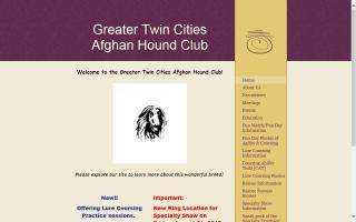 Greater Twin Cities Afghan Hound Club