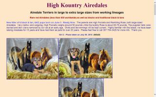 High Kountry Airedales