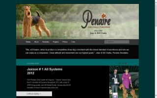 Penaire Airedale Terriers
