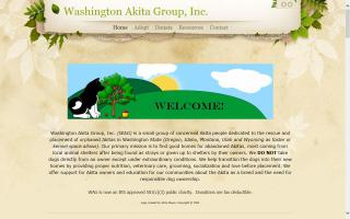 Washington Akita Group, Inc. - WAG