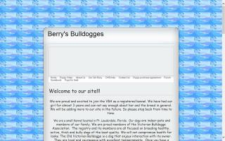 Berry's Bulldogges