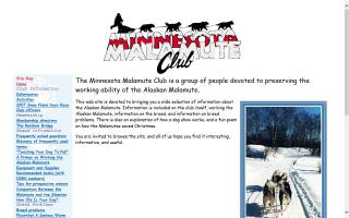 Minnesota Malamute Club