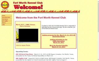 Fort Worth Kennel Club - FWKC