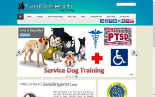 Sara Gingerich Dog Training