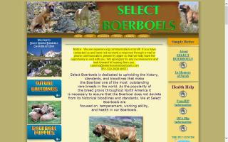 Select Boerboels