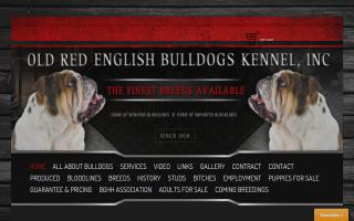 Old Red English Bulldogs Kennel Inc.