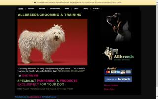 Allbreeds Grooming & Training
