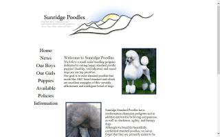 Sunridge Poodles