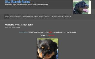 Sky Ranch Rottweilers