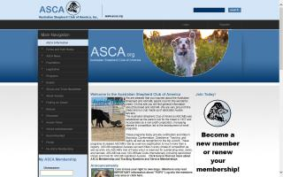 Australian Shepherd Club of America, Inc. - ASCA