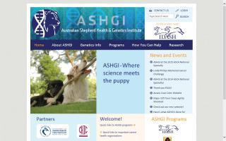 Australian Shepherd Health & Genetics Institute, Inc. - ASHGI