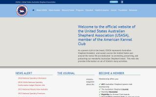 United States Australian Shepherd Association - USASA