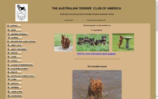 Australian Terrier Club of America, The - ATCA
