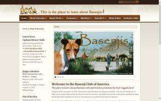 Basenji Club of America