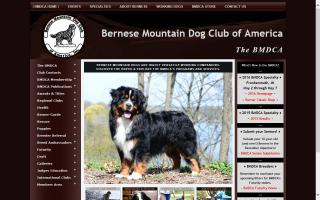 Bernese Mountain Dog Club of America, The - BMDCA