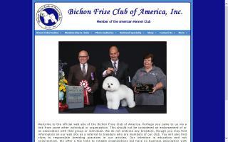 Bichon Frise Club of America, Inc. - BFCA