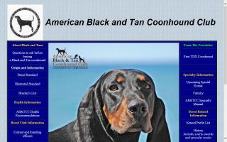 American Black and Tan Coonhound Club - AB&TCC