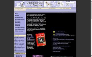 Dalmatian Club of America - DCA