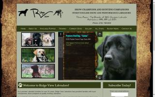 Donna Reece's Ridge View Labrador Retrievers