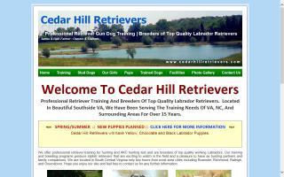 Cedar Hill Retrievers