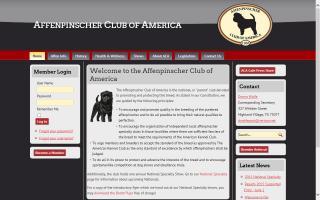 Affenpinscher Club of America - ACA