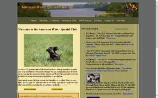 American Water Spaniel Club, Inc. - AWSC